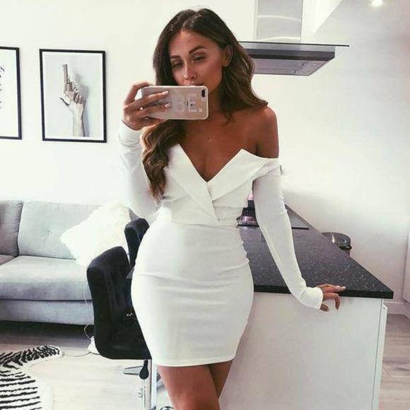 0de789355326 Missguided Dresses | Bardot Foldover Wrap Dress | Poshmark